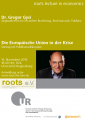 5th roots lecture in economics am 16.11.2016