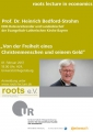 6th roots lecture in economics am 01.02.2017