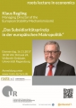 7th roots lecture in economics am 16.11.2017