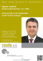 10th roots lecture in economics am 21.05.2019